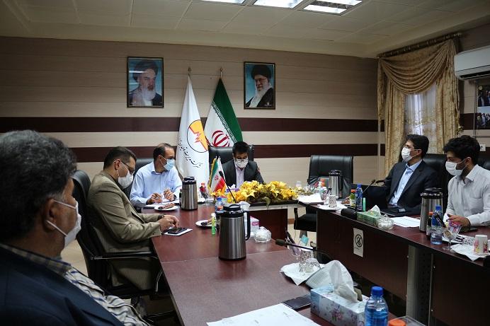 بازدید مدیرعامل شرکت تولید نیروی برق کرمان از نیروگاه زرند