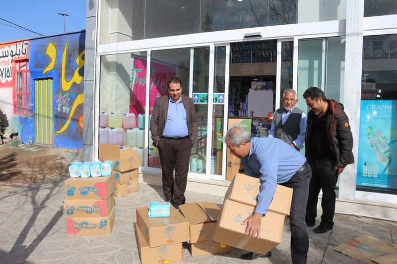 ارسال کمکهای مردمی نیروگاه زرند به هموطنان مناطق سیل زده کشور