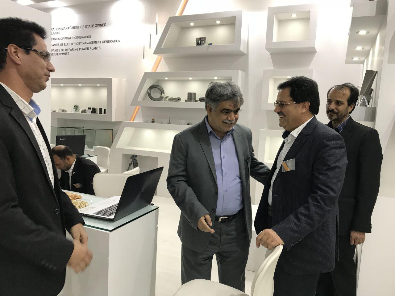 حضور نیروگاه زرند در هجدهمین نمایشگاه صنعت برق ایران