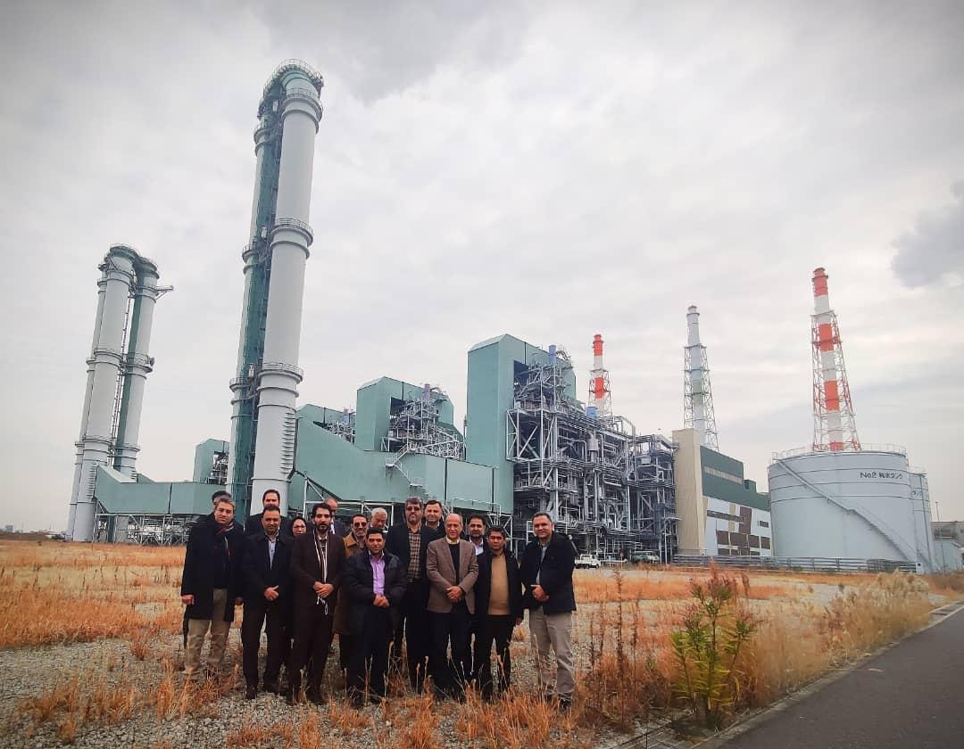 کشور ژاپن، میزبان همکاران وزارت نیرو، تولید برق حرارتی و نیروگاه زرند: