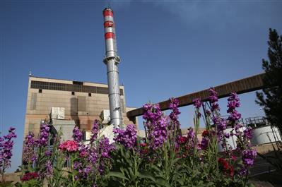 نیروگاه زرند به شبکه برق سراسری پارالل شد