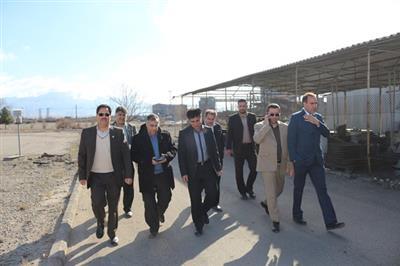 بازدید مهندس قرشی مدیرعامل شرکت تولید نیروی برق کرمان از پروژه های در دست اقدام نیروگاه زرند