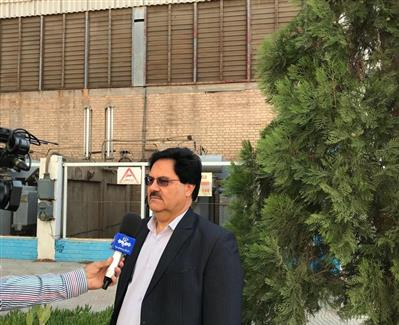 حضور عوامل صداو سیما مرکز استان در نیروگاه و مصاحبه با مدیر عامل در خصوص کسب موفقیت رکورد تولید