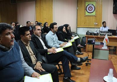 برگزاری کارگاه آموزشی رفع موانع ارتباطی در نیروگاه زرند
